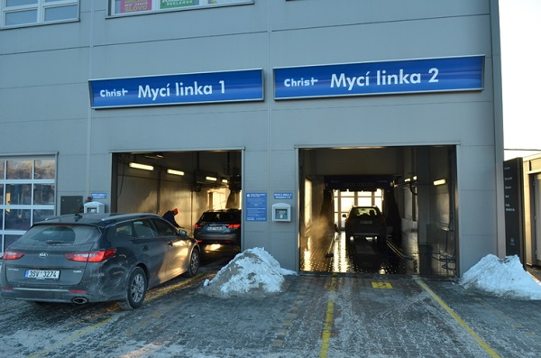 Mycí centrum - linka 1+2